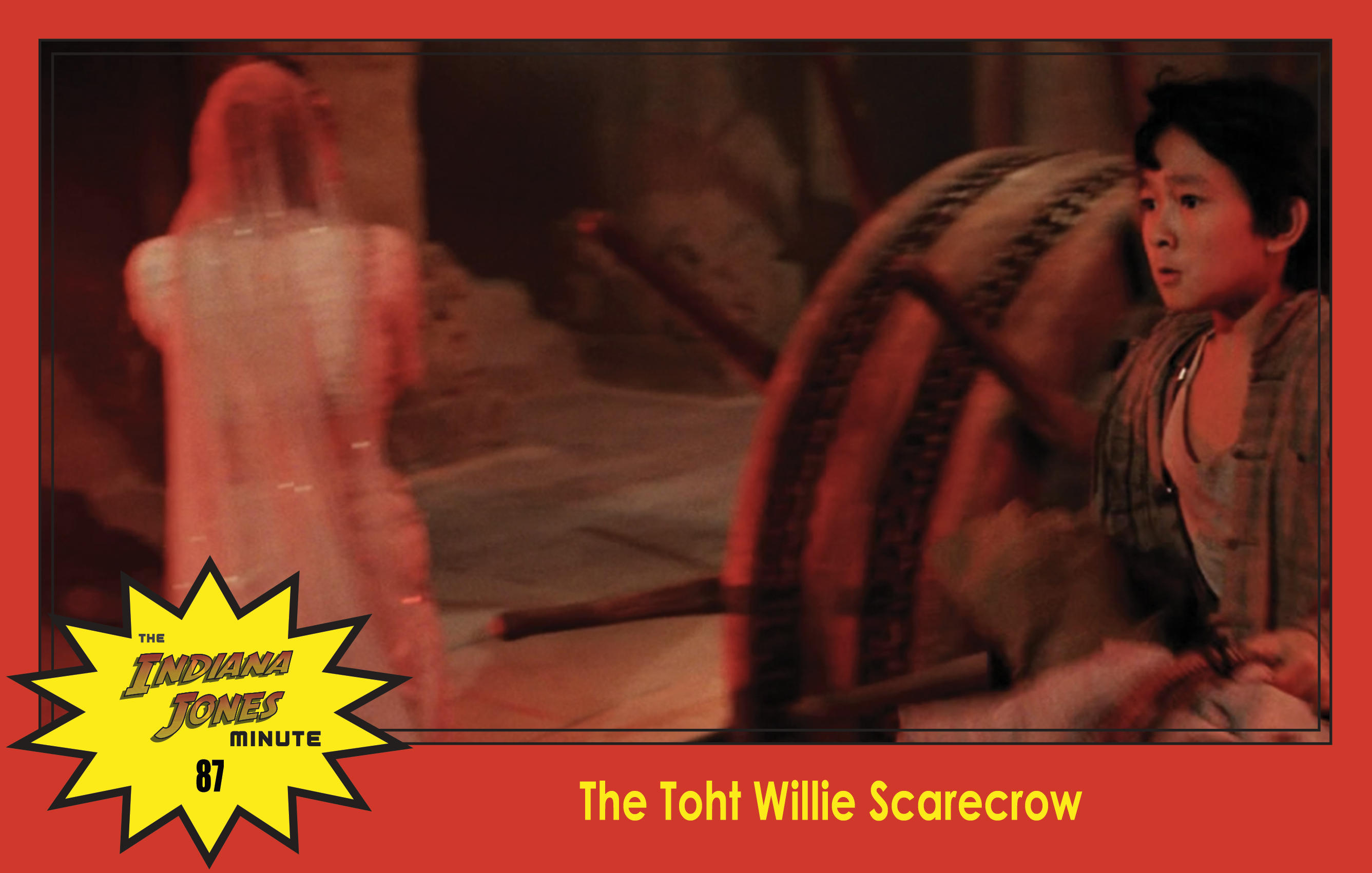 Temple Of Doom Minute 87 The Toht Willie Scarecrow